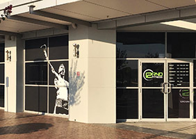 Round 12 Gym Window Decals in Sydney's Western Suburbs